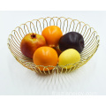 Fruit Bowl Basket Holder Kitchen Counters Table Holiday Decoration Unique Round Shape Bowl Basket